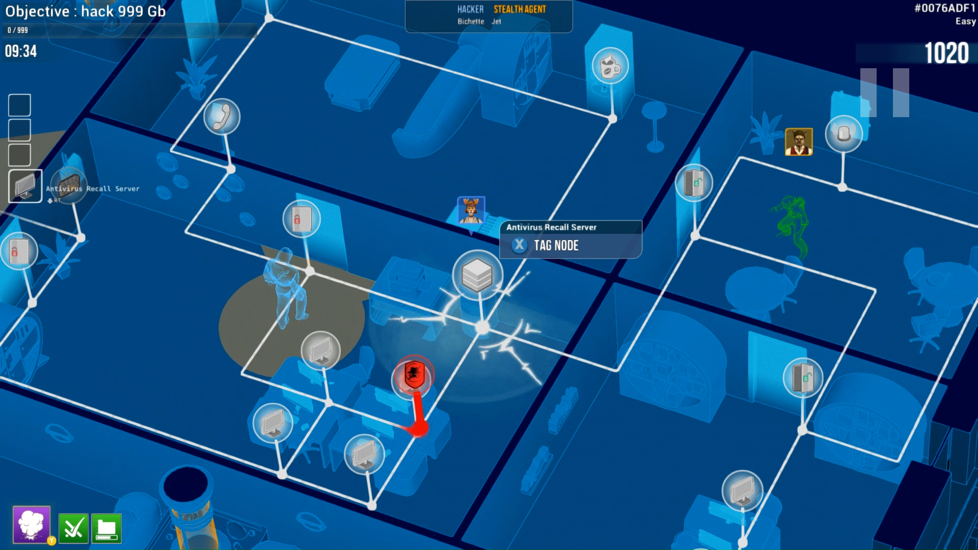 Hacktag – 2 player co-op asymetric stealth game